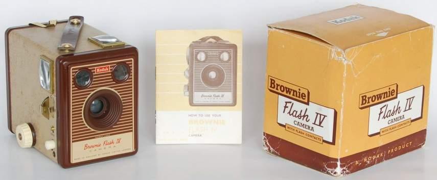 104 Brownie Flash Iv Camera Browniecam